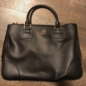 Tory burch double zip bag